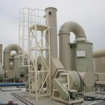 Exhaust gas purification system using HEPDS method: