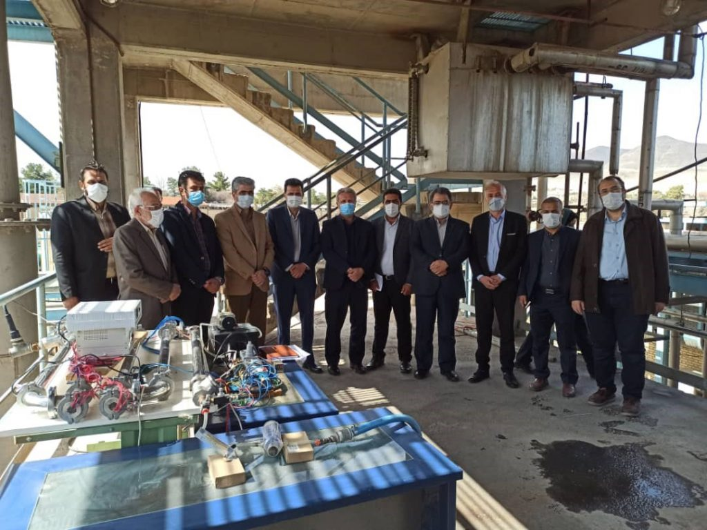 Unveiling of the industrial achievements of Shiraz Islamic Azad University in collaboration with SINA Chemical Industries Company